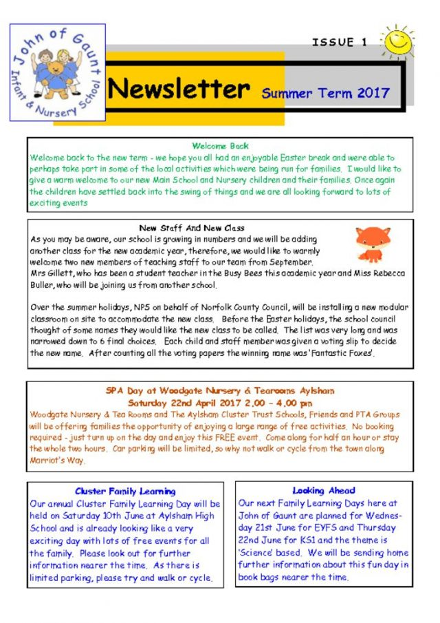 thumbnail of Summer-17-Newsletter-No-1