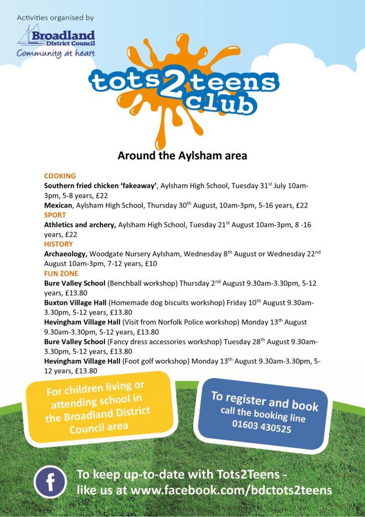 thumbnail of Aylsham cluster