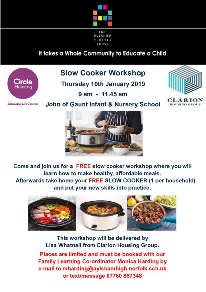 thumbnail of Slow cooker workshop January 2019