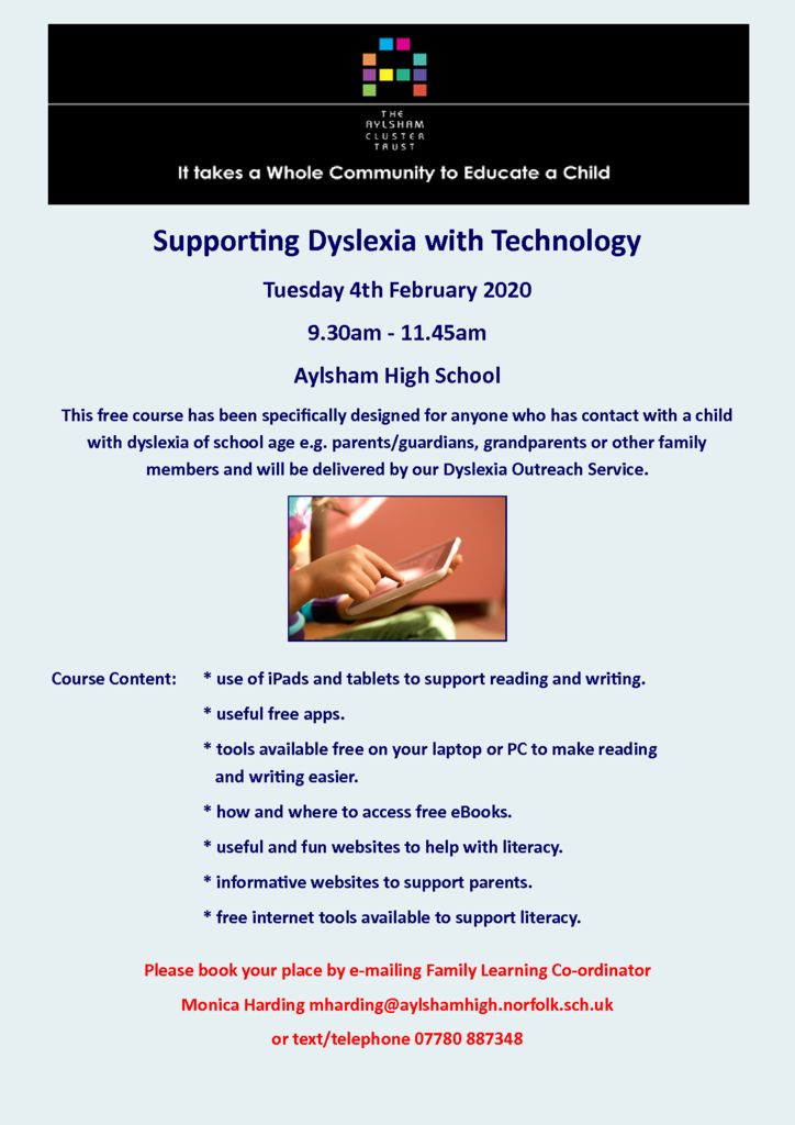 thumbnail of Dyslexia Support with Technology 040220