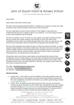 thumbnail of BB letter to parents re home learning