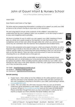 thumbnail of TT letter to parents re home learning