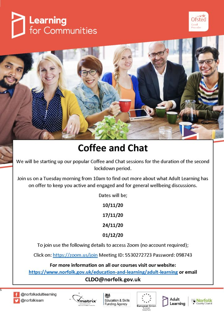 thumbnail of Poster Coffee and Chat with Adult Learning Nov 20 (002)