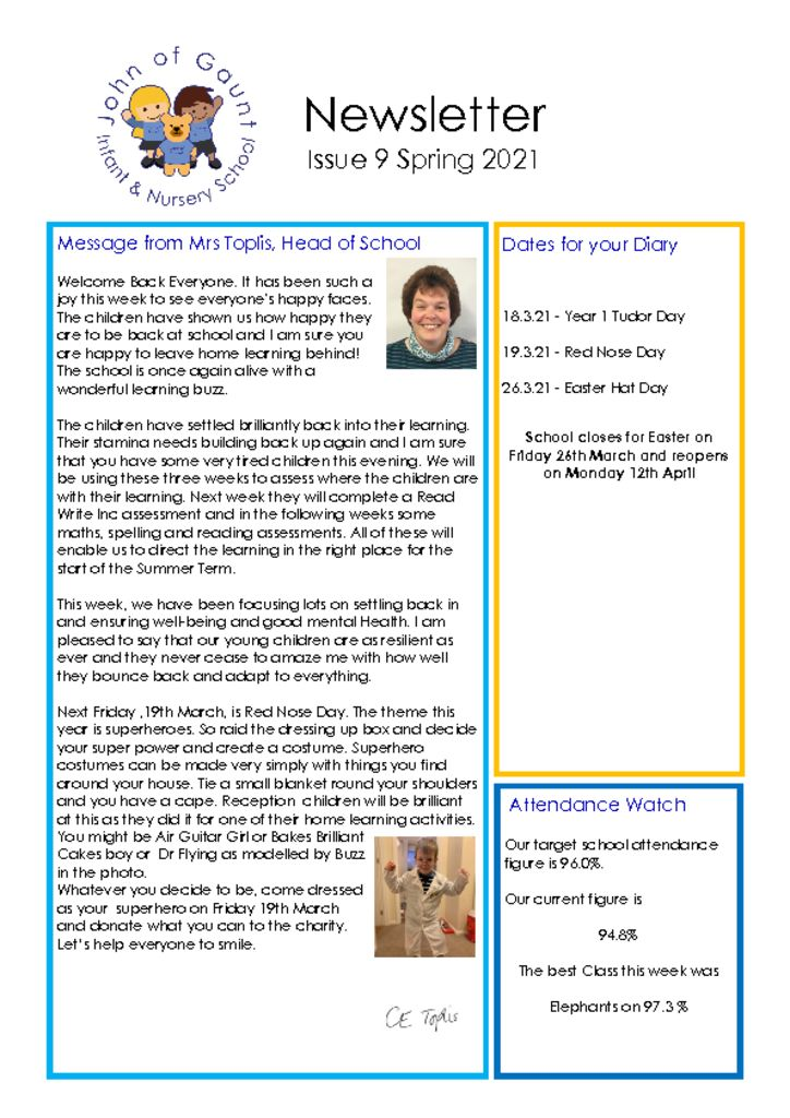 thumbnail of JOG Autumn 20 Newsletter No 9