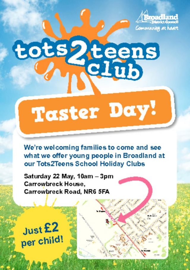 thumbnail of Tots 2 Teens Taster day A5