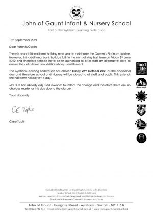 thumbnail of Additional day holiday letter JBN