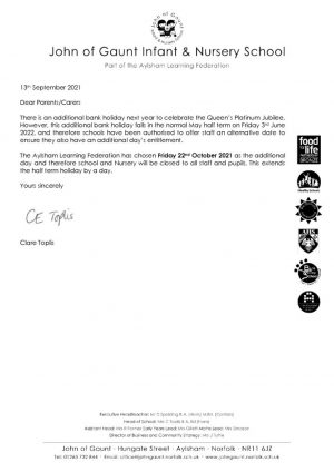 thumbnail of Additional day holiday letter MS